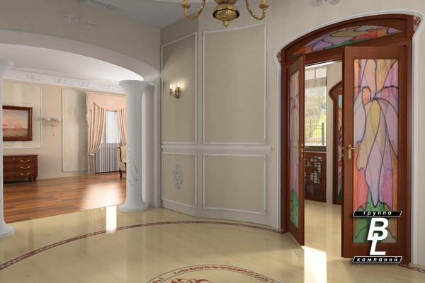 В квартире какой дизайн можно сделать